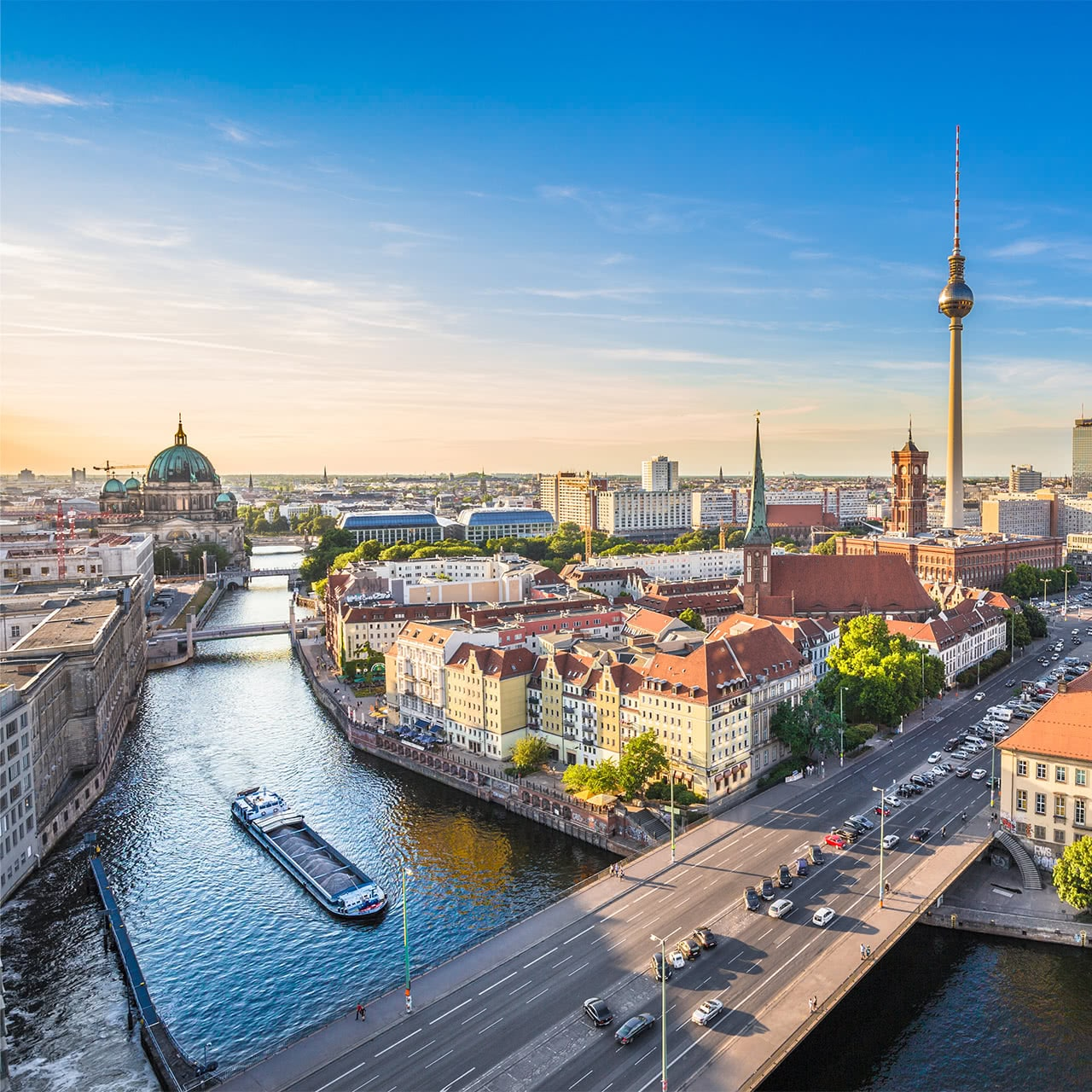 view from Berlin, Germany