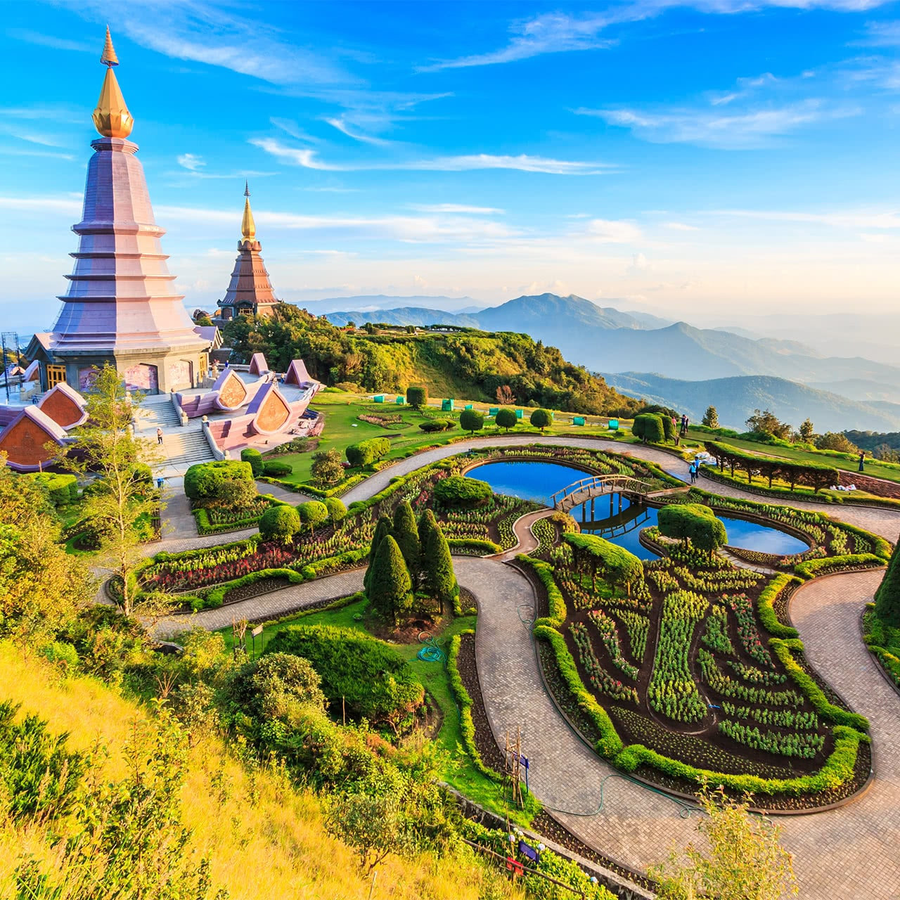 a view from Chiang Mai, Thailand