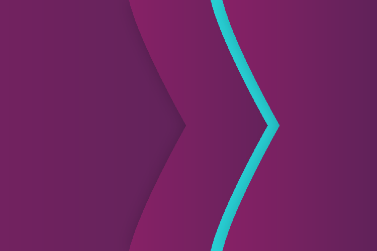 Skrill brand purple and teal arrows background