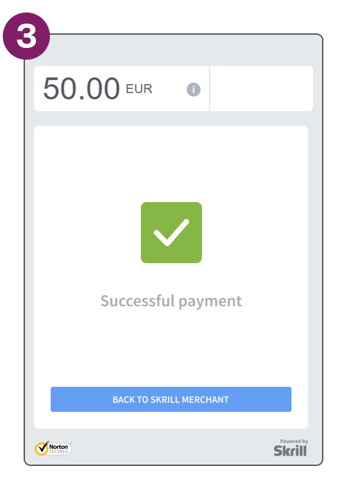 Quick checkout step complete payment