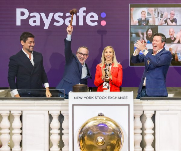 Paysafe listed on the New York Stock Exchange (NYSE)